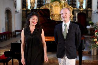"""Konrad Jarnot, hier im Bild mit Julia Stemberger, sagte heuer für die """"Academia Voalis"""" ab."""