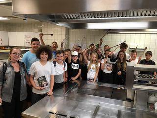 So viel Spaß hatten den Schülerinnen und Schülern der NMS Wies bei den Berufsorientierungstagen beim GH Karpfenwirt in St. Martin im Sulmtal.