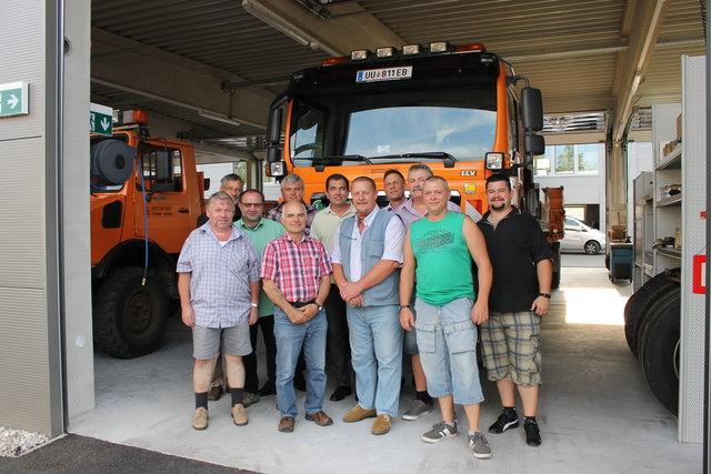 Im neuen Wirtschaftshof Ottensheim-Puchenau haben die Mitarbeiter mehr Platz, ihre Arbeit zu erledigen.