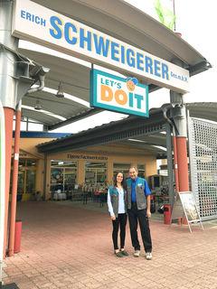 Im Let's Doit Fachgeschäft Schweigerer in Schalchen findet aktuell Sommerschlussverkauf statt. Dann beginnen die Umstrukturierungsmaßnahmen.
