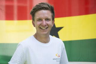 Bernhard Raffetseder freut sich auf seine Aufgaben in Afrika, wo er benachteiligten Kindern und Jugendlichen helfen möchte.
