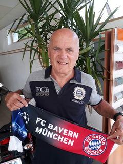 Bayern Fan Hans Neuhauser