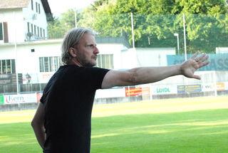 Hartberg Coach Markus Schopp ist mit der Entwicklung seines Teams zufrieden.