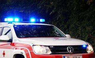 Der verletzte Rennradfahrer wurde ins UKH Linz geliefert.