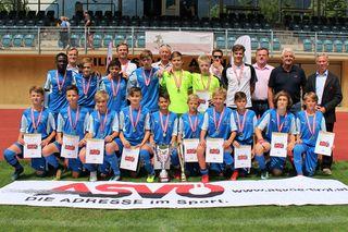 Die Tiroler U13-Auswahl gewann das 48. ASVÖ Schülerfußball-Ländervergleichsturnier.