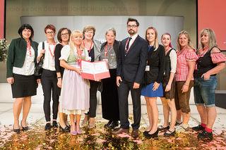 Das Pflegekompetenzzentrum Kaindorf erhielt dden Staatspreis.