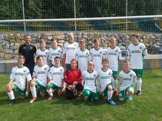 Trainer Helmut Wieseneder und sein U14-Team des SV Erlauf blickt zuversichtlich auf die kommende Fußballsaison.