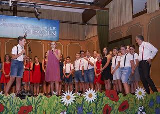 Die neun Musikklassen der NMMS Seeboden feierten ihr 40-Jahr-Jubiläum