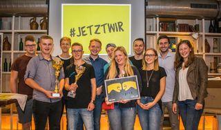 Die JVP-Ortsgruppe in Schlüßlberg verzeichnete 76 Neumitglieder im Jahr 2017.