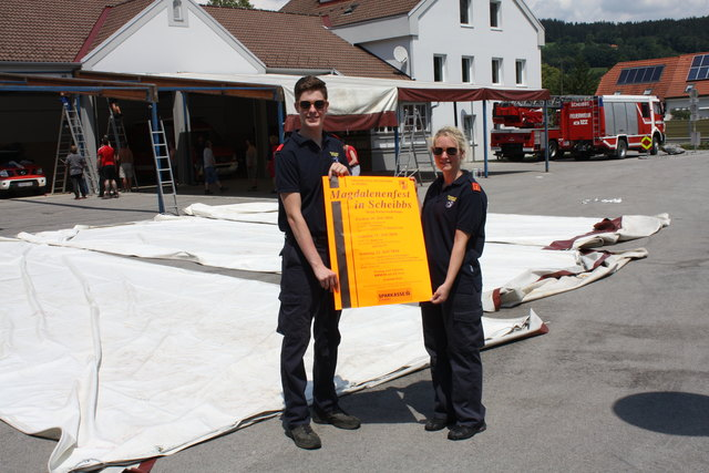Die Feuerwehr lädt zum Magdalenenfest in Scheibbs.