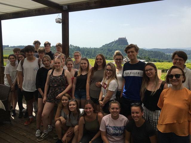Die Schüler entdeckten das Südburgenland und die Südoststeiermark.