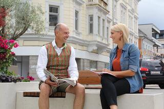 Im WOCHE-Interview erzählt Johann Presslinger Geschichten rund um, aber auch abseits des Kirchtages