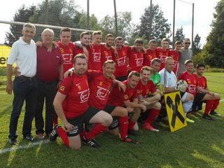 Meister im Oststeirercup wurde Lödersdorf (Foto) vor Frutten-Gießelsdorf und dem USFC Gniebing.