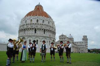 Musik verbindet die Semriacher seit 2006 auch mit den Bewohnern von Fauglia.