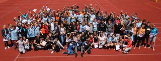 Mehr als 100 Schüler ließen sich den Junior Beachcup des UVB Sparkasse Grieskirchen nicht entgehen.
