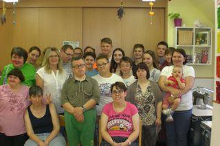 Die Firmlinge aus der Pfarre Gerersdorf waren zu Gast in der Förderwerkstatt in Stegersbach.