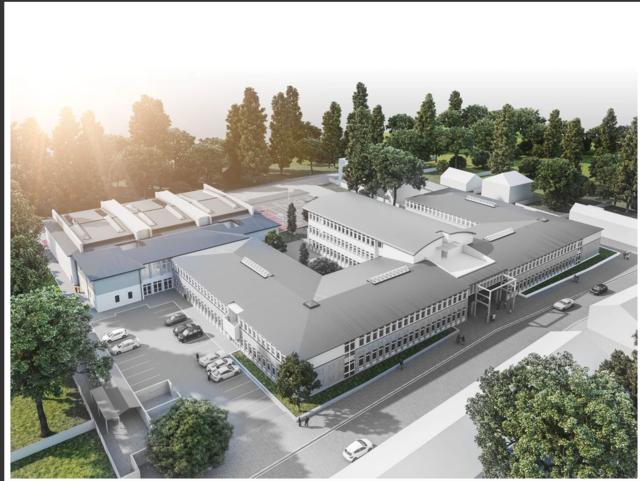 Das Gymnasium in der Draschestraße wurde 2017 ausgebaut. Doch es fehlen nach wie vor Plätze für Liesings Gymnasiasten.