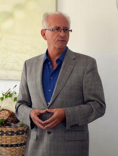 Gerhard Renner bei seiner Abschiedsrede.