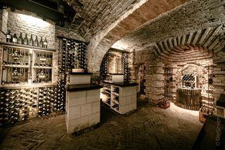 Der Weinkeller der Kuchlmasterei hat einiges zu bieten.