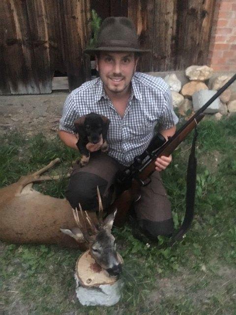 Michael Kirnbauer aus Wiesfleck schaffte einen ganz besonderen Jagderfolg.