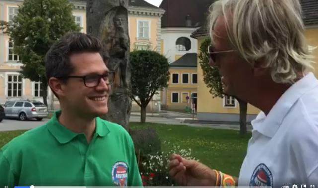 Daniel Kusternigg im Gespräch mit Andreas Du-Rieux.