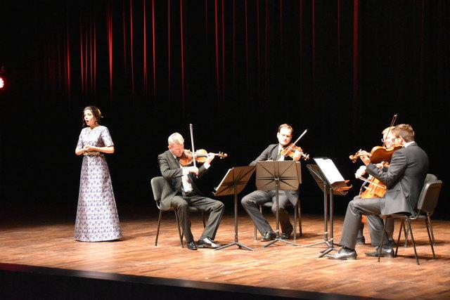 Sopranistin Maria Radoeva und das österreichische Acies Quartett zeigten sich in Erl am 18. Juli in musikalischer Höchstform.