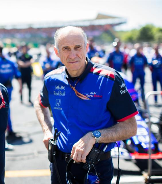"""Der gebürtige Trinser Franz Tost ist Teamchef des Formel-1-Teams """"Toro Rosso"""""""