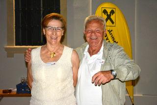 Aloisia und Günter Gartner sind seit 20 Jahren für das Festival im Einsatz
