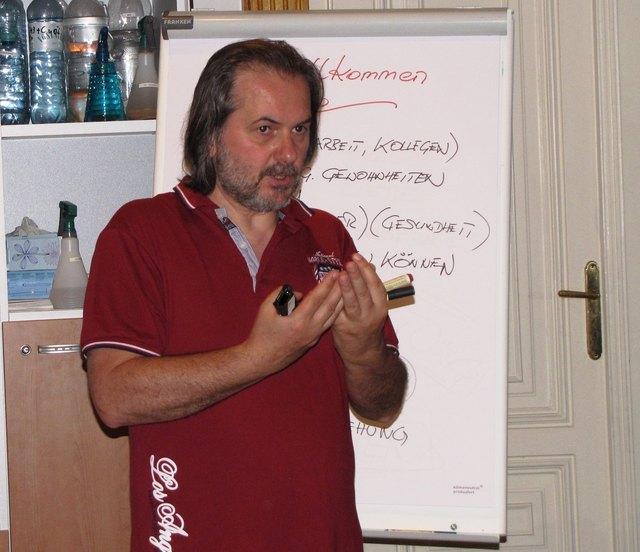 Diplommentaltrainer Wilhelm Eder