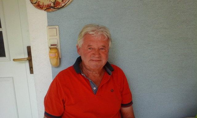 Spricht gerne Mundart: Herbert Praßl aus Dirnbach.