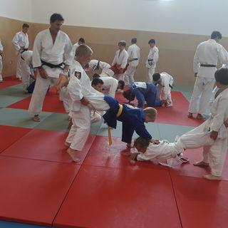 Die sechs Lungauer Judoka genossen eine sportliche und abwechslungsreiche Woche mit den Wiener Judoka.