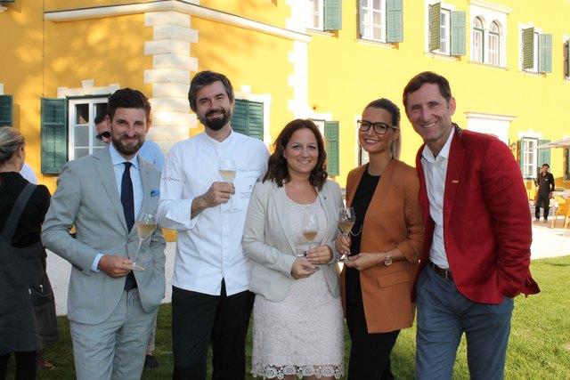 Sascha Marx, Thomas Gruber, Denise Kunisch, Verena Kolanda, Daniel Klier (WOCHE)