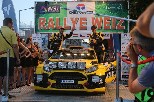 Niki Mayr-Melnhof und Poldi Welsersheimb (Ford Fiesta) führen derzeit die Rallye Staatsmeisterschaft an