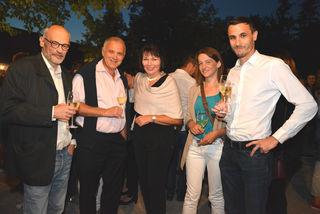 Dieter und Isabella Zins mit Freunden
