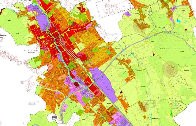 Die Ansiedlung von neuen Betrieben sowie Wohn- und Wohlfühlflächen sind die Ziele des Flächenwidmungsplans 1.0