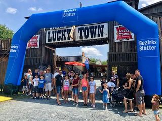 Die Bezirksblätter luden zum Familienfest ins Lucky Town.