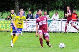 Lukas Ried erzielte in der Verlängerung die entscheidende 3:2 Führung für Lafnitz.