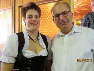 Erich Zib mit seiner Tochter Marion