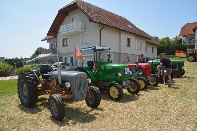 Beim Oldtimer-Treffen in Oberdorf gab es viel zu bewundern.