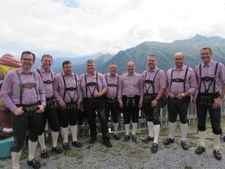 Die Kappler Dorfmusikanten spielten vor und nach der Messe einen Frühschoppen.