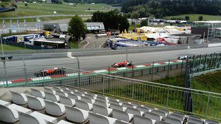Die Formel Renault am Red Bull Ring....