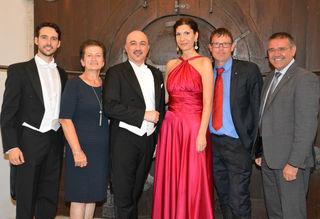 Juan de Dios Mateos, Erni Rauscher, Hooman Khalatbari, Biljana Kovac, Stephan Gartner und Manfred Schulz