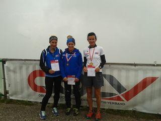 Während sich zwei LAC-Athleten nach Klagenfurt aufmachten, waren Haas, Bergauer und Pramhas bei den OÖ Berglaufmeisterschaften am Loser dabei.