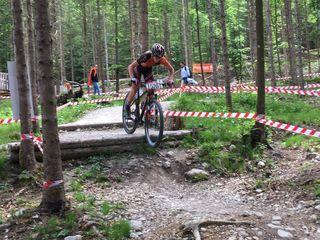 Christoph Holzer holte sich in Vorarlberg den Österreichischen Vizemeistertitel.