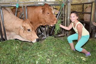 """Unter dem Motto """"Erlebnis am Bio-Bauernhof Starzhofer"""" luden Bio Austria OÖ und die BezirksRundschau Leser auf den Bio-Bauernhof """"Starzhofer"""" von Barbara und Helmuth Riegler ein."""