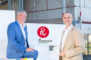 Gemeinnützige als Partner der Gemeinden: Wolfram Sacherer (l.) und Christian Krainer (GVB Steiermark)