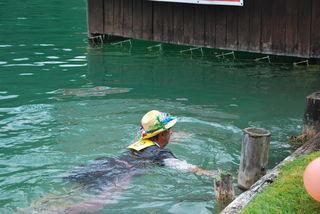 Wer reinspringt, muss auch wieder ans Ufer schwimmen.