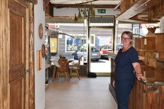 Bettina Schwager findet durch das Nockkörberl ganztags eine Beschäftigung.