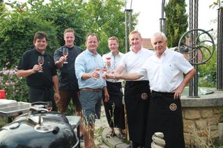 Freuten sich: Sepp Hartinger, Peter Kieslinger, Werner Paulitsch, Kurt Stessl, Stefan Prenninger und Manfred Pollanz.
