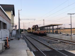 Noch ist der Bahnhof in Kematen eine Baustelle, dazu gehörte bis jetzt leider auch der Namensstreit.
